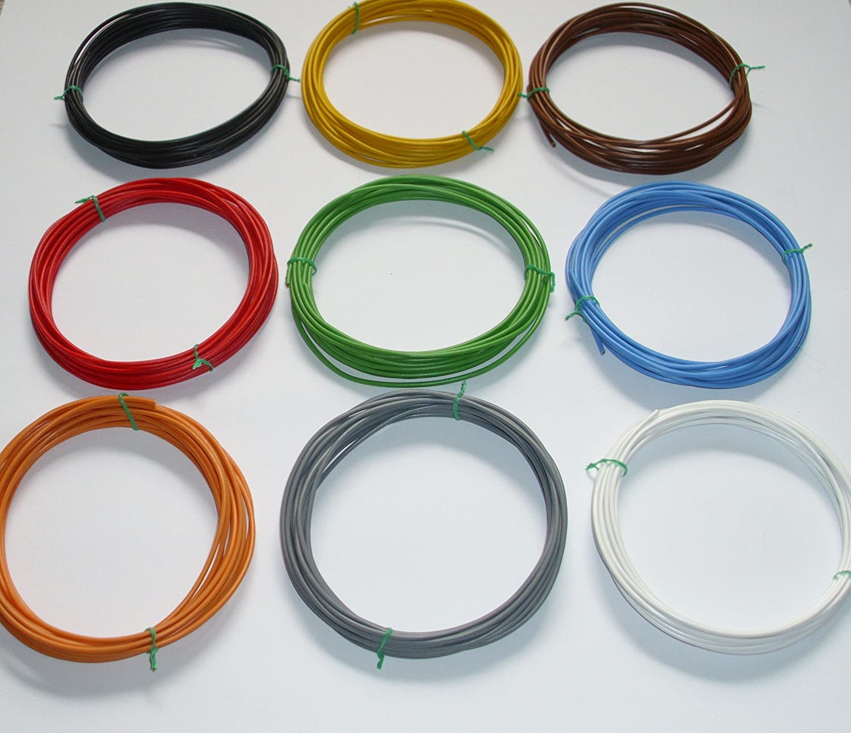 0,75mm/² Kfz Kabel Set Litze Flry /€ 0,50//m w. L/ängen siehe Beschreibung 11 x 5m