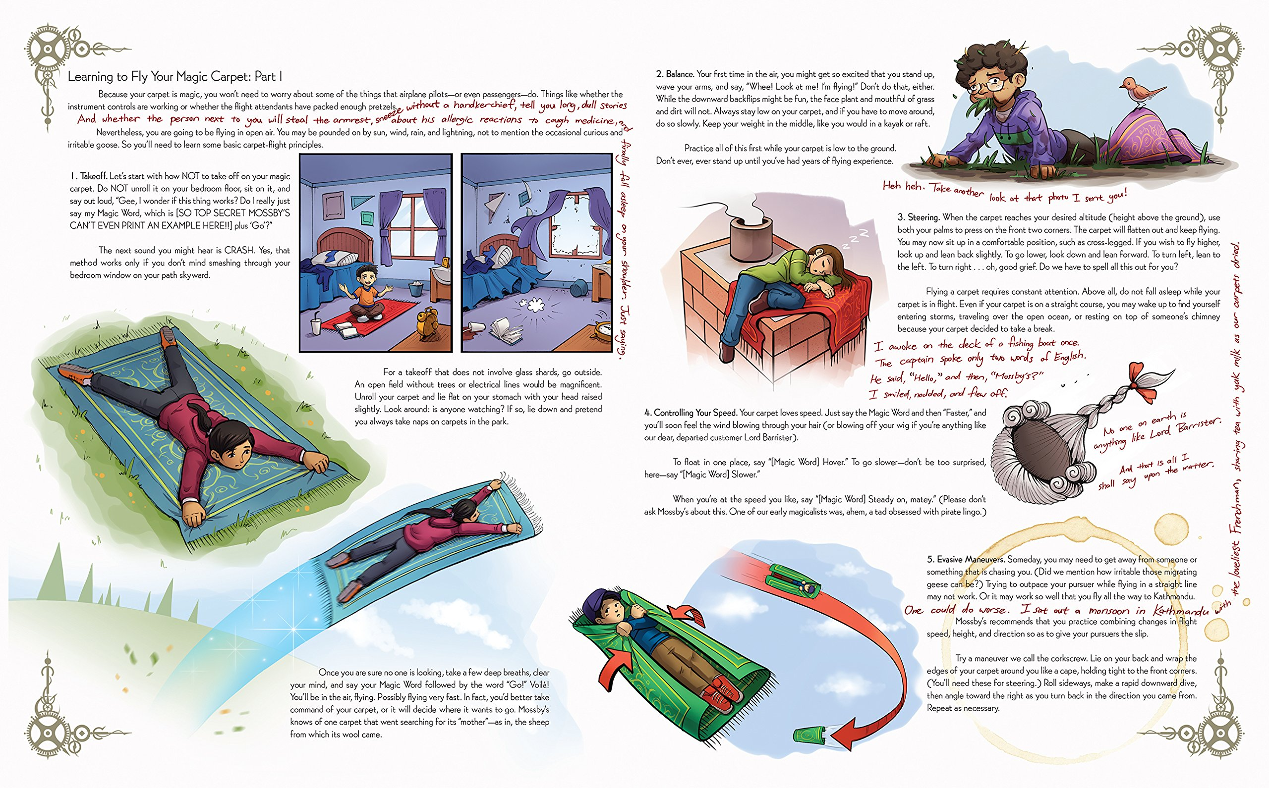 637b017491a10a Mossby s Magic Carpet Handbook  A Flyer s Guide to Mossby s Model D3  Extra-Small Magic Carpet (Especially for Young or Vertically Challenged  People)  Ilona ...