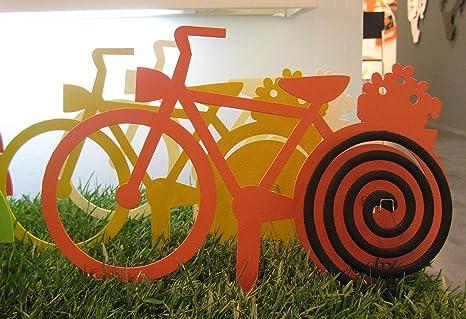 Arti E Mestieri Porta Zampironi.Arti E Mestieri Porta Zampironi Da Vaso Bicicletta In Metallo