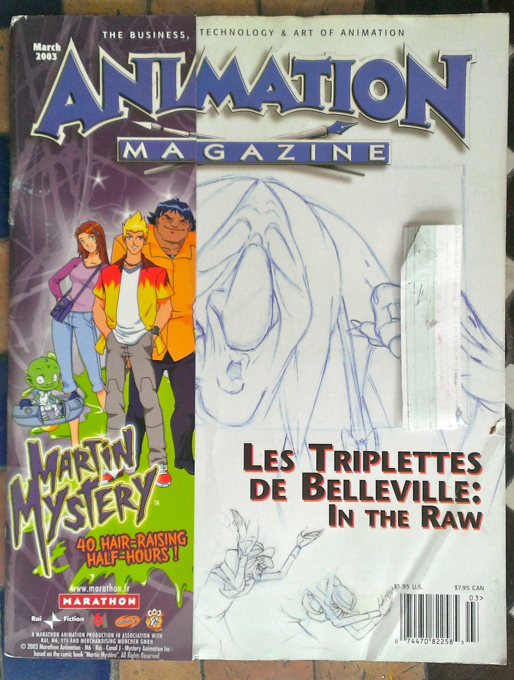 Animation Magazine March 2003 Volume 17, Issue 2, Number 122 pdf epub