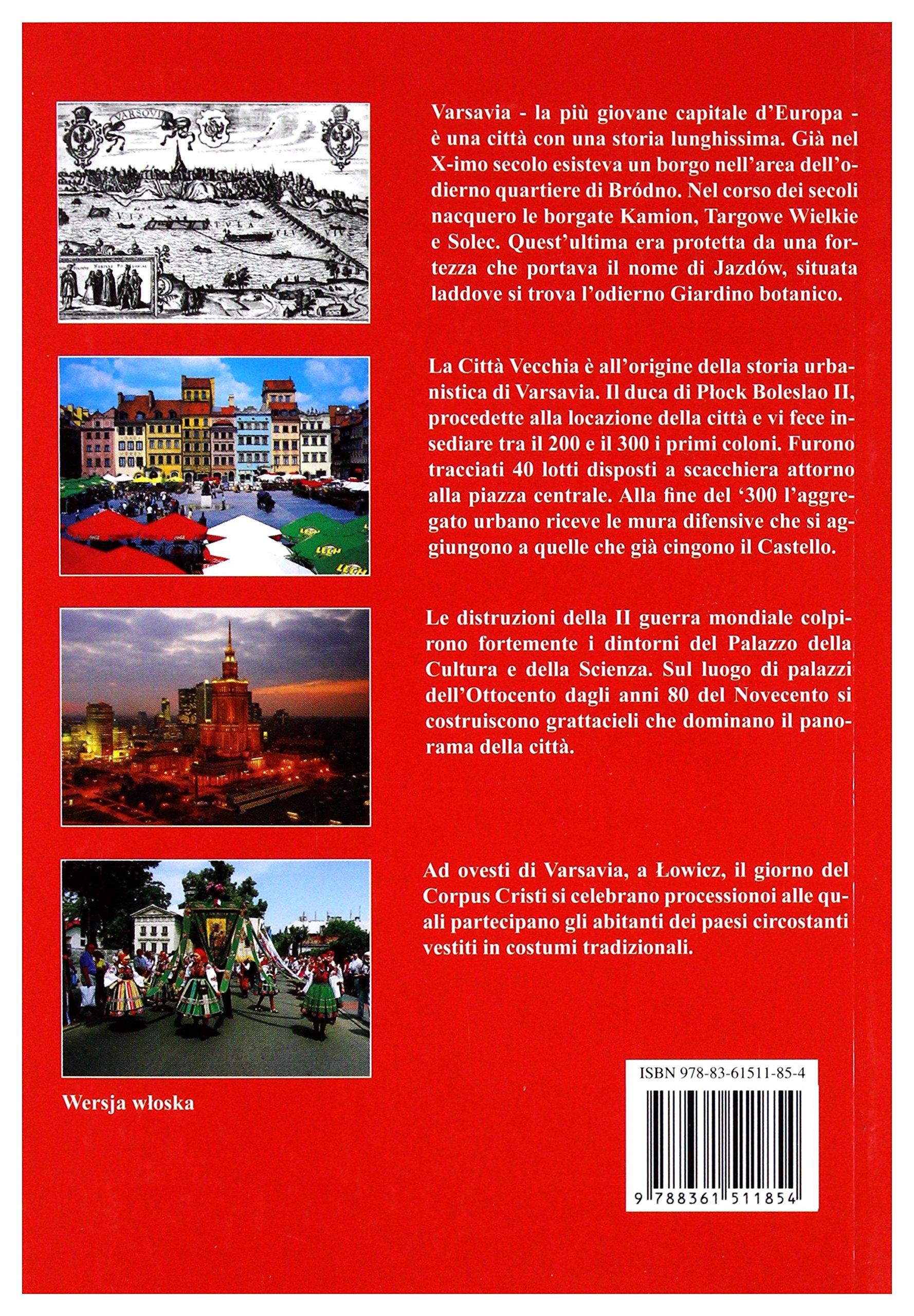 Warszawa i okolice. Wersja wloska (polish): 9788361511854: Amazon.com: Books