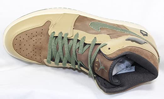fac5934641efe Nike Air Jordan 1 325514 231 DS07 Army Pack Rare Basketball Ltd Trainers  NIB NEW: Amazon.co.uk: Shoes & Bags