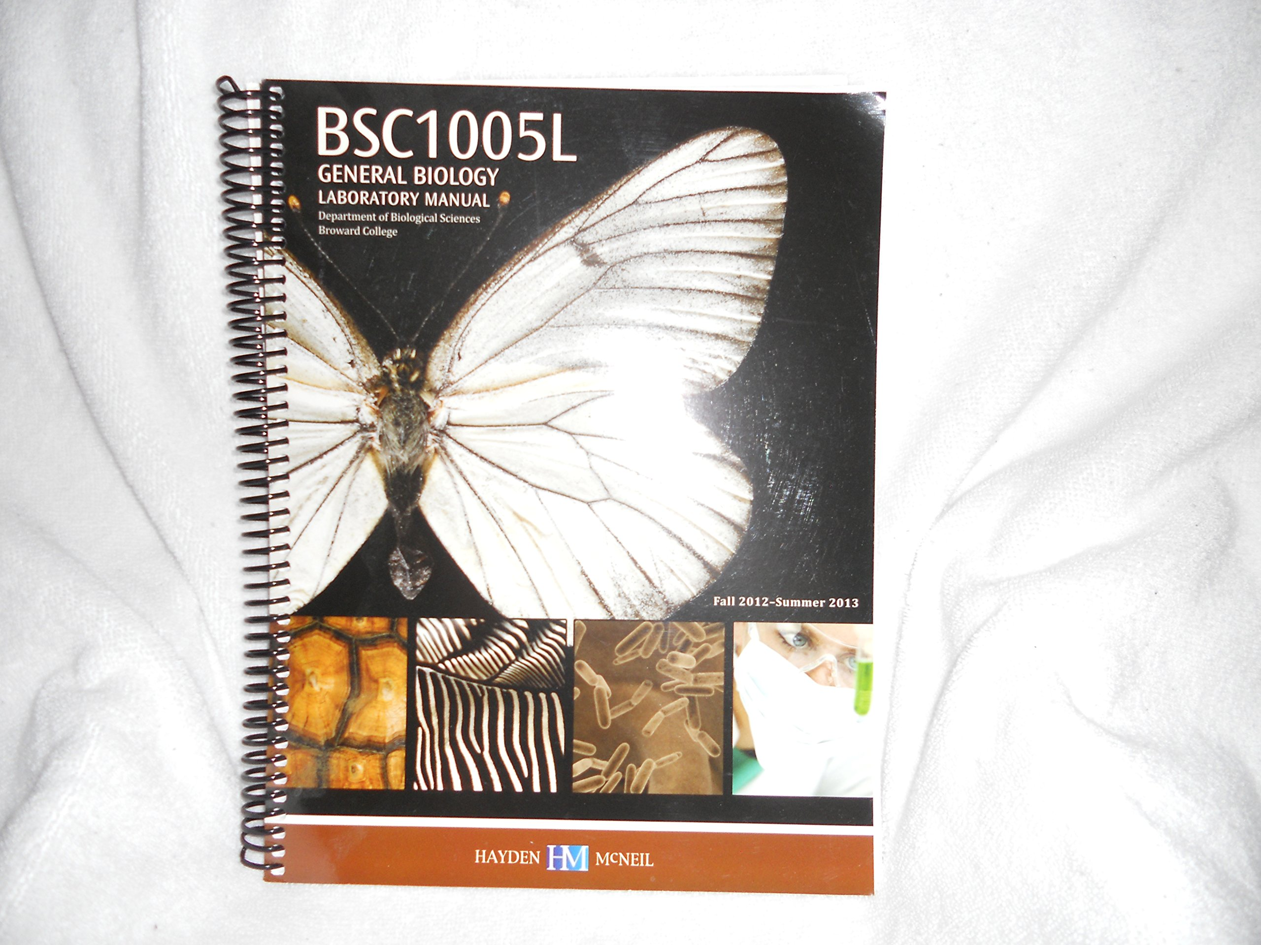 BSC10057 General Biology Laboratory Manual: Hayden/McNeil: 9780738052250:  Amazon.com: Books