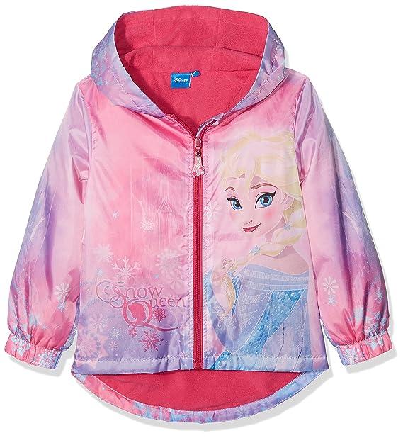 Disney Frozen Frozen Snow Queen, Abrigo para Niñas, Rosa (Pink 18-2436TC) 3-4 Años: Amazon.es: Ropa y accesorios