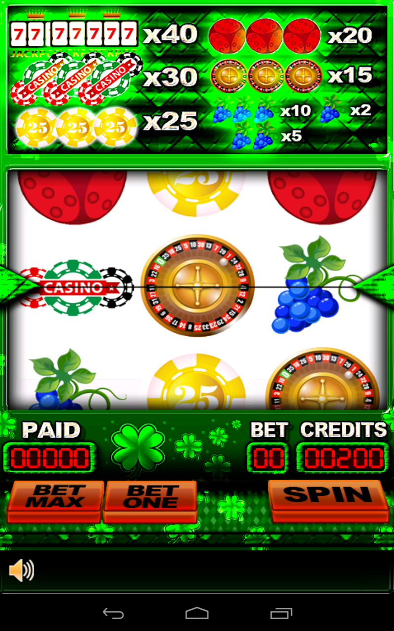 Free Casino Games Without Internet