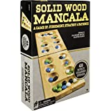 Wood Folding Mancala in Cardboard Sleeve (Packaging may Vary)