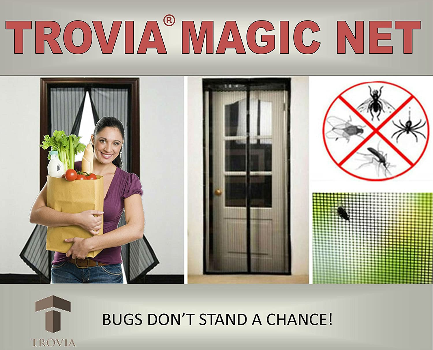 Amazon Magic Net Mosquito And Bug Screen Door New Design With