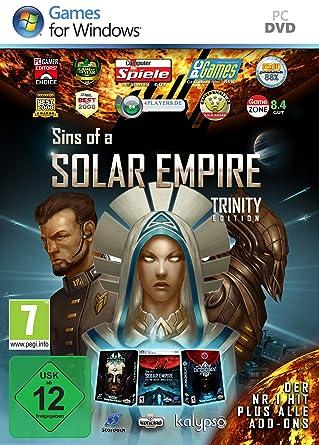 Sins Of A Solar Empire Trinity Edition Pc Amazonde Games