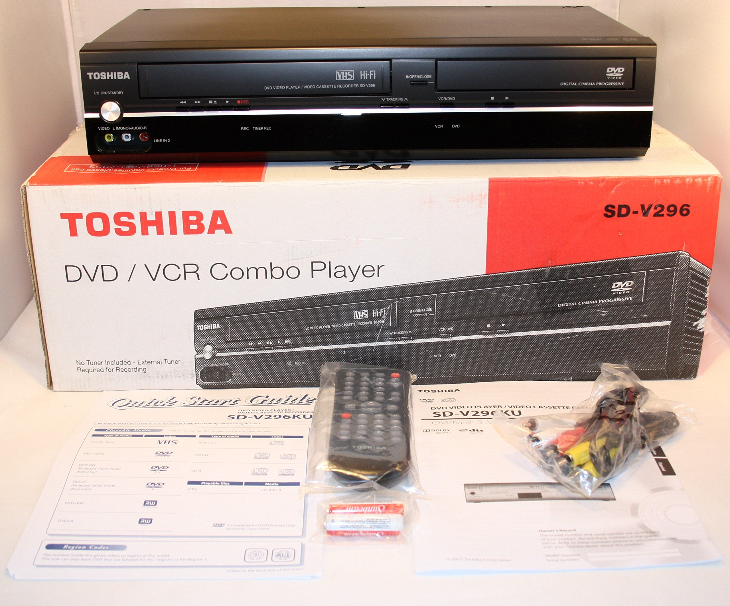 Toshiba SD-V296 Tunerless DVD VCR Combo Player (Discontinued)