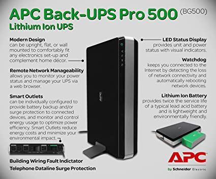 apc bg500 apc back ups pro 500 amazon ca electronics