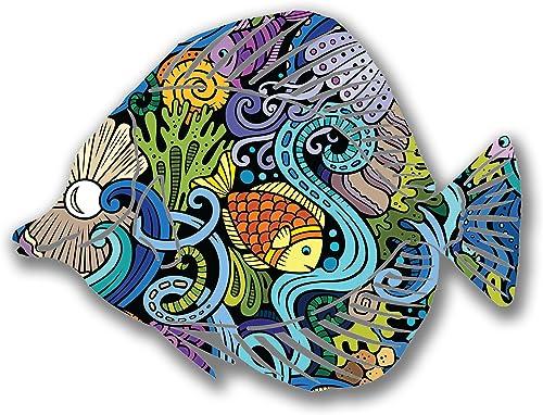 Next Innovations Steel Angel Fish Wall Decor