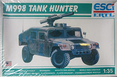 Amazon.com: M998 Tank Hunter: Toys & Games