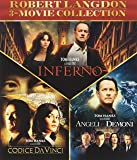 Robert Langdon 3 Movie Collection - Il Codice da Vinci + Angeli e Demoni + Inferno (3 Blu-Ray)