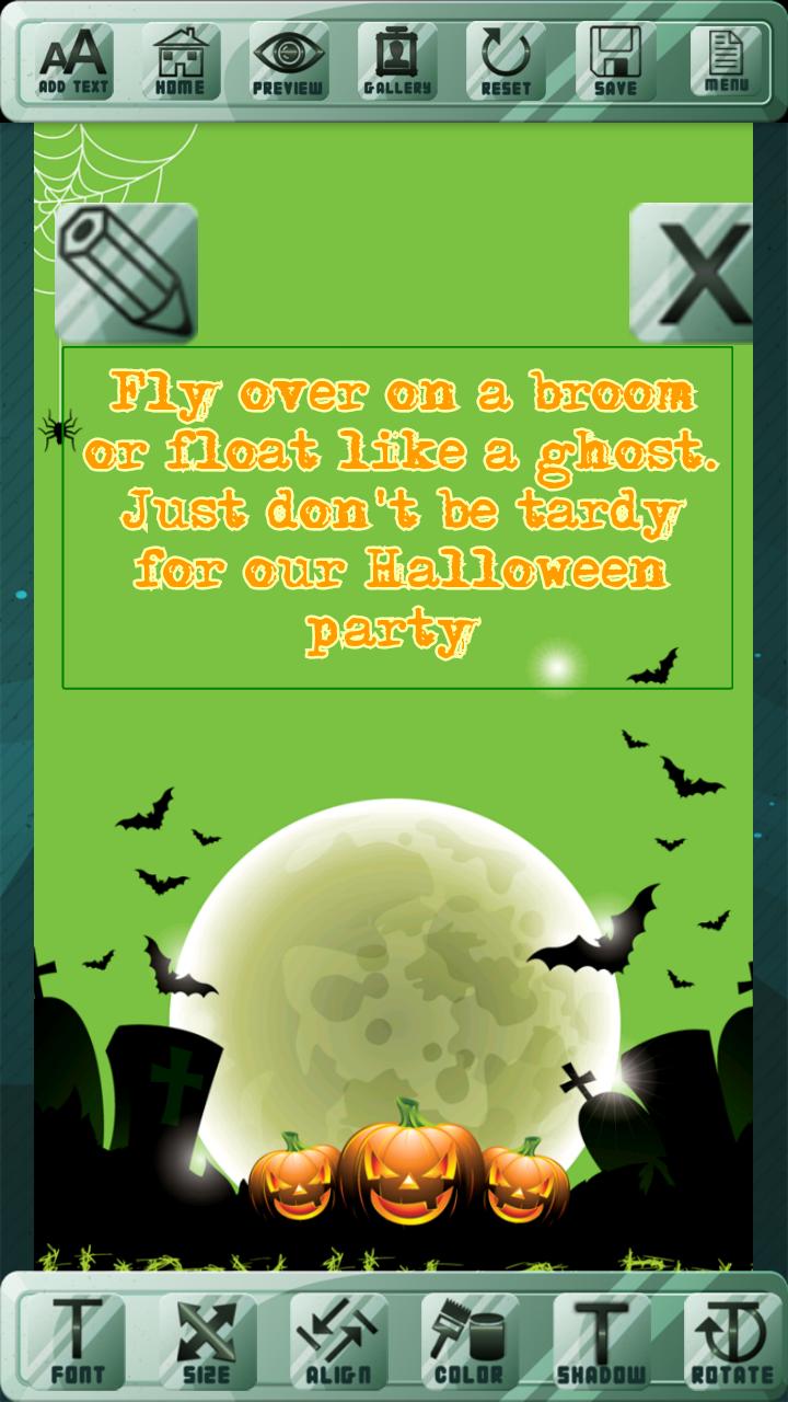 La celebración de Halloween invita: Amazon.es: Appstore para Android