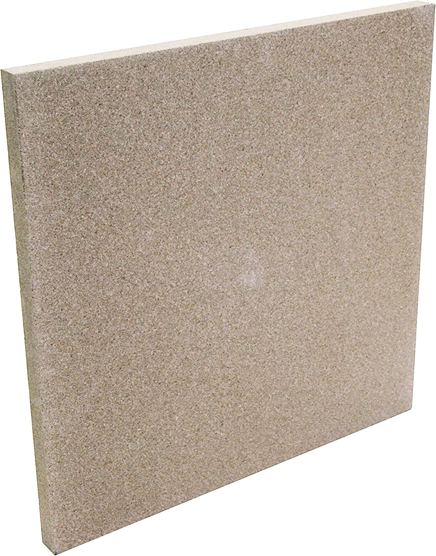 Beige Kamino-Flam Pannello in Vermiculite 50x50x3 cm