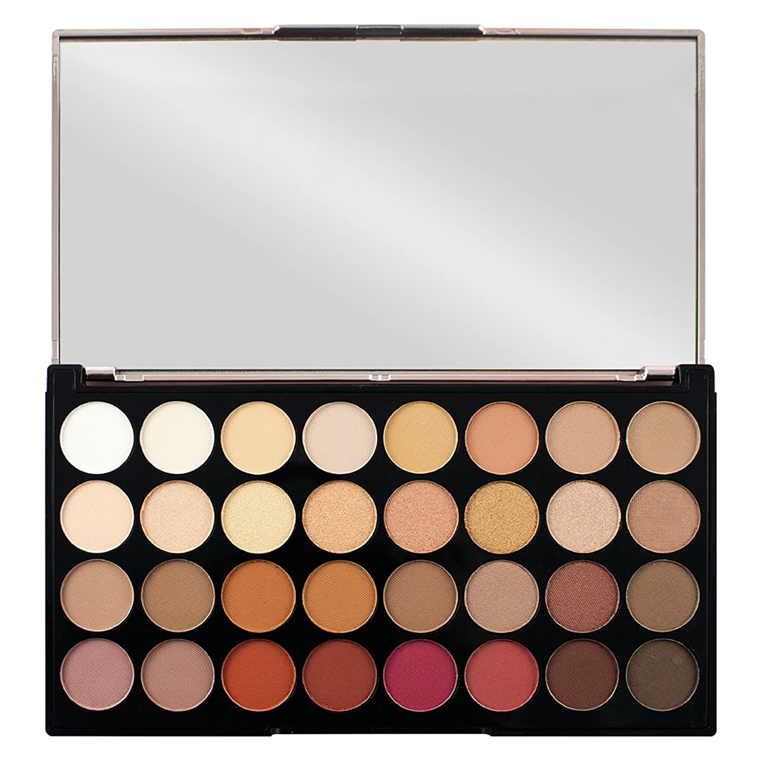 Make Up Revolution London Ultra 32 Eyeshadow Palette, Multi Color, 16g