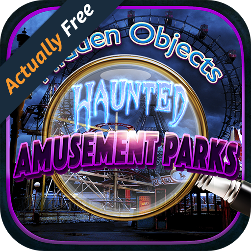 Hidden Object Haunted Amusement Theme Park- Objects Time Puzzle Photo Seek & Find FREE Game ()