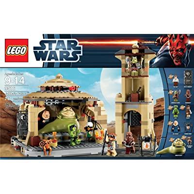 LEGO Star Wars 9516 Jabba's Palace (Discontinued by manufacturer): Toys & Games