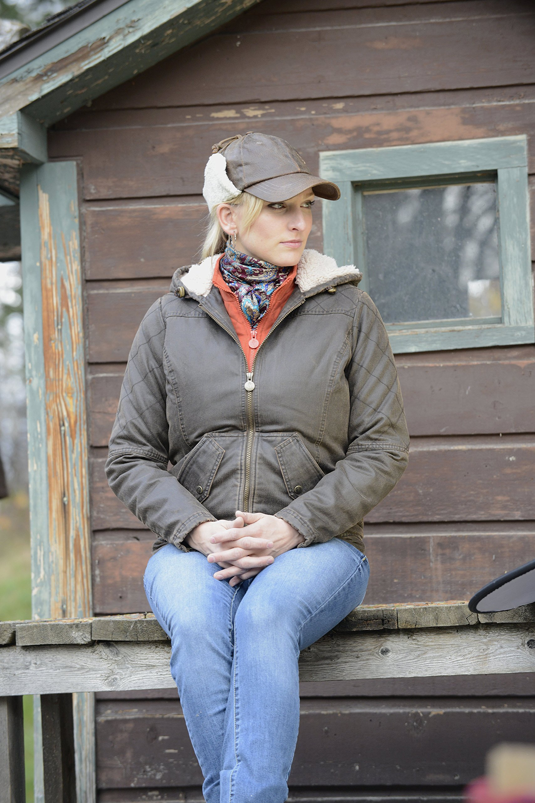 Outback Trading Co Women's CO. Heidi Canyonland Jacket Brown X-Large by Outback Trading (Image #5)