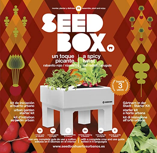 SeedBox Seed Box SBCOTP - Toque Picante: Amazon.es: Jardín