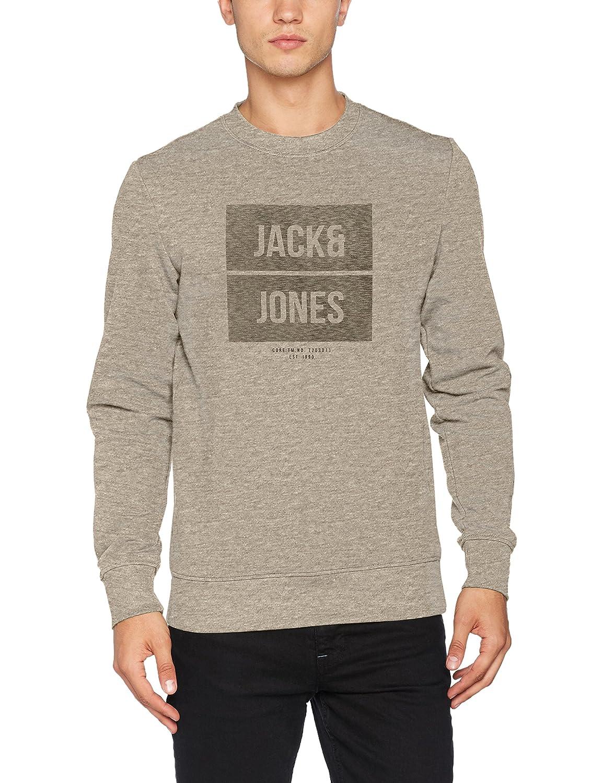 TALLA S. JACK & JONES Jcobak Sweat Crew Neck WHS Sudadera para Hombre