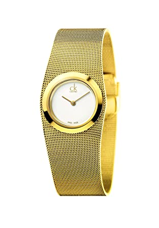 Calvin Klein ck Impulsive Gold-Tone Ladies Watch K3T23526