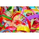 Assorted Ribbon, Various Colours , Approx 25m Per Bag