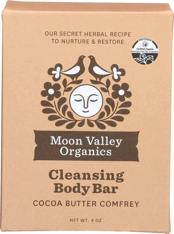 Moon Valley Organics, Soap Bar Cocoa Comfrey Organic, 4 Ounce