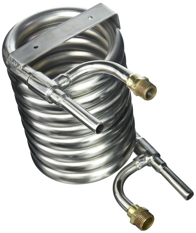 Kegco's Stainless Steel Counterflow Chiller FL-SCFC