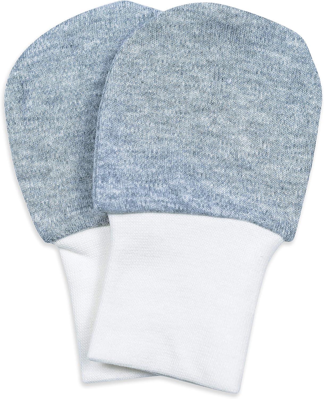 Baby Mittens Newborn Baby Cotton Gloves,3 Pairs