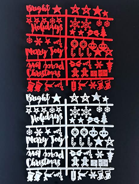 New Christmas and Holiday Words and Symbols for Felt Letter Boards Board NOT Included