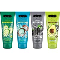 Freeman Facial Mask Variety Pack: Oil Absorbing Clay, Renewing and Moisturizing...