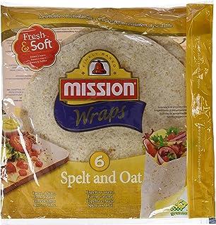 Mission Wraps Espelta Y Avena - 6 Paquetes de 370 gr - Total: 2220 gr