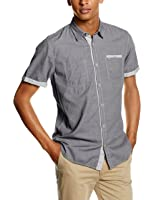 Tom Tailor Ray Casual Twill Shirt, Chemise de Loisirs Homme