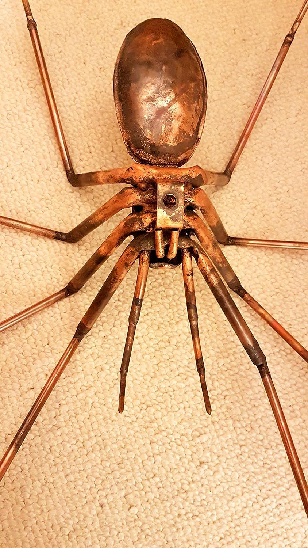 Spinne aus Kupfer \