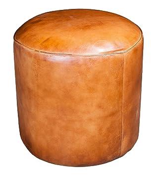 Pouf Leder amazon de leder pouf marokko 40x40cm