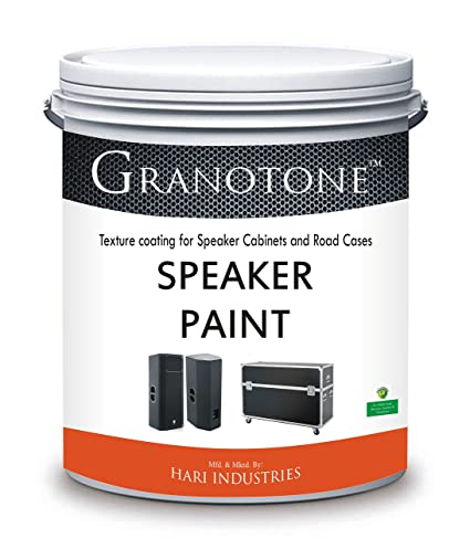 GRANOTONE Roller Grade Speaker Cabinet Texture Coating Paint Black