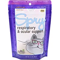 In Clover Spry Daily Respiratory and Ocular Support Soft Chews for Cats, with L-Lysine, Superfoods, and Prebiotics for a…