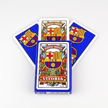 Fournier 174918 - Baraja/Naipes FC Barcelona 50 Cartas