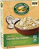 Nature's Path Chia Plus Granola, Coconut Chia, 12.34 Ounce