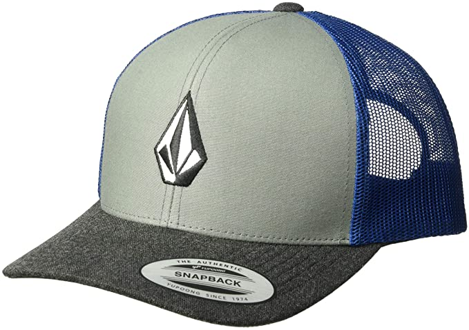 c0f214a1d00ab7 Volcom Men's Full Stone Cheese Hat Baseball Cap, Used Blue, One Size ...