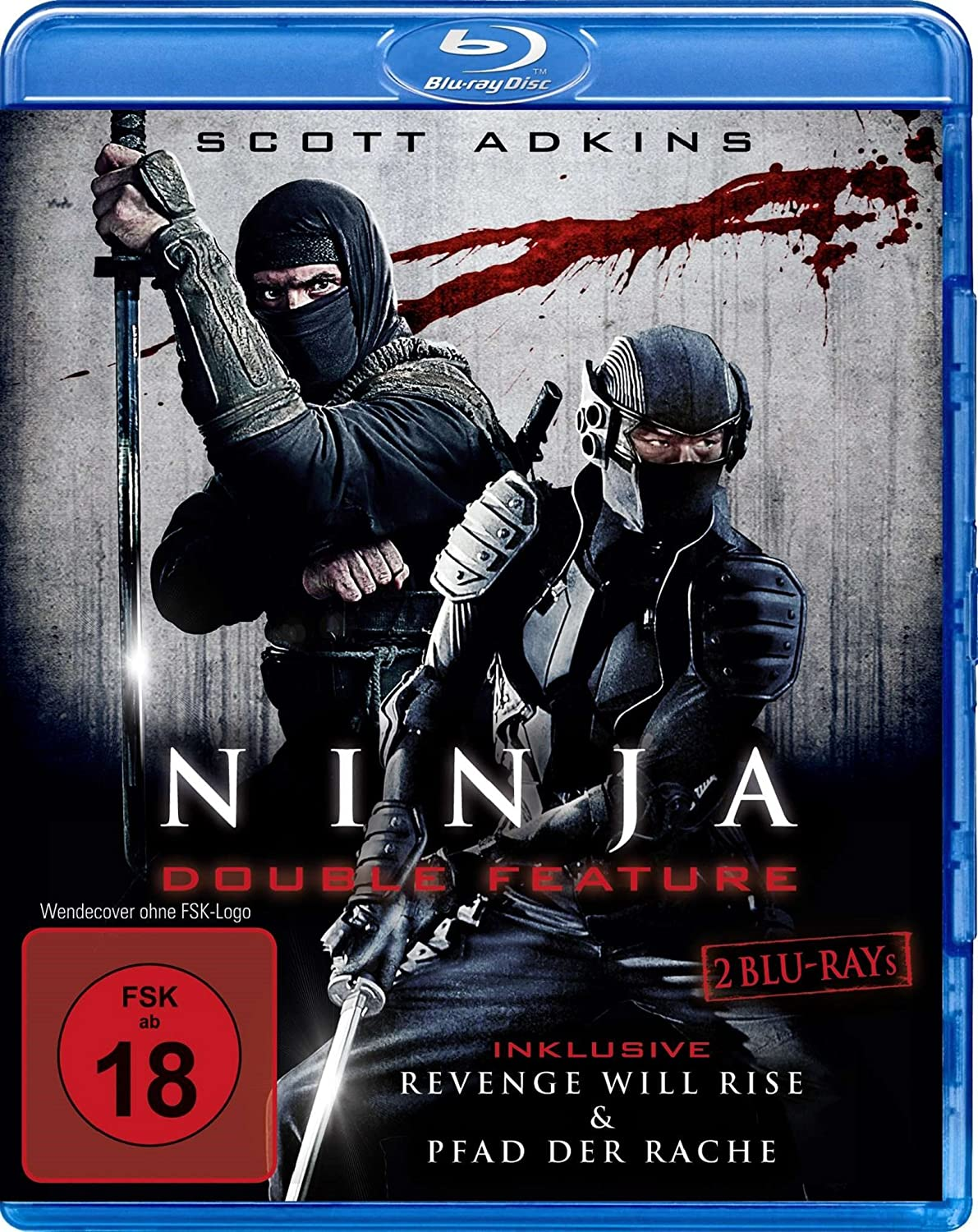 Ninja - Double Feature [Alemania] [Blu-ray]: Amazon.es: Todd ...