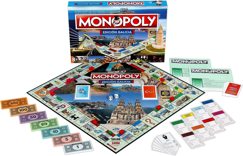 Winning Moves Monopoly Galicia (10223), multicolor, 40 x 27 cm (ELEVEN FORCE: Amazon.es: Juguetes y juegos