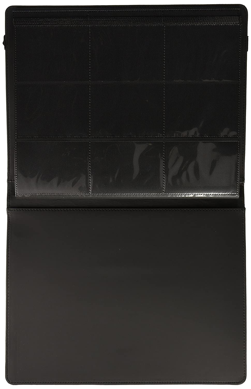 Black Pro-Folio 9-Pocket LX Album