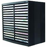 Fellowes - Soporte para CD, color negro
