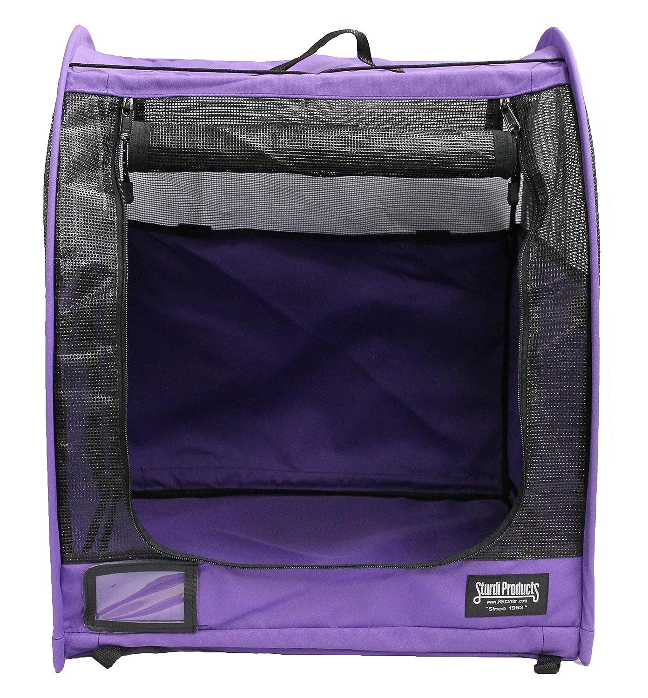 Amazon.com : Sturdi Products Car-Go Single Pop-Up Pet Shelter, Purple : Pet Supplies