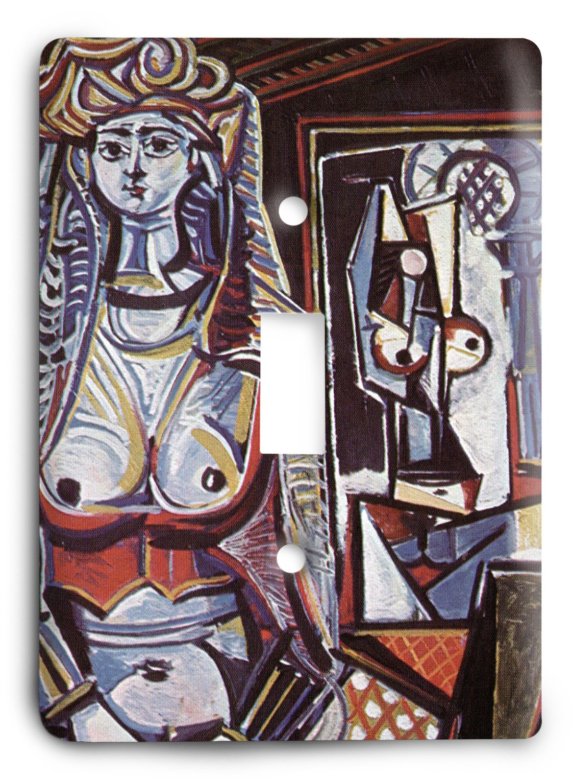 Pablo Picasso - Women of Algiers, after Delacroix 1955 Light Switch Cover
