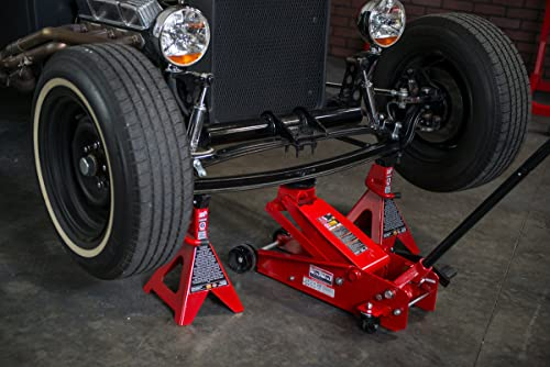The Torin Big Red steel ack stands are a must-have necessity in the garage.