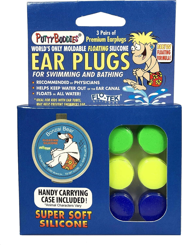 Ear Bandit - Tapones de silicona para los oídos