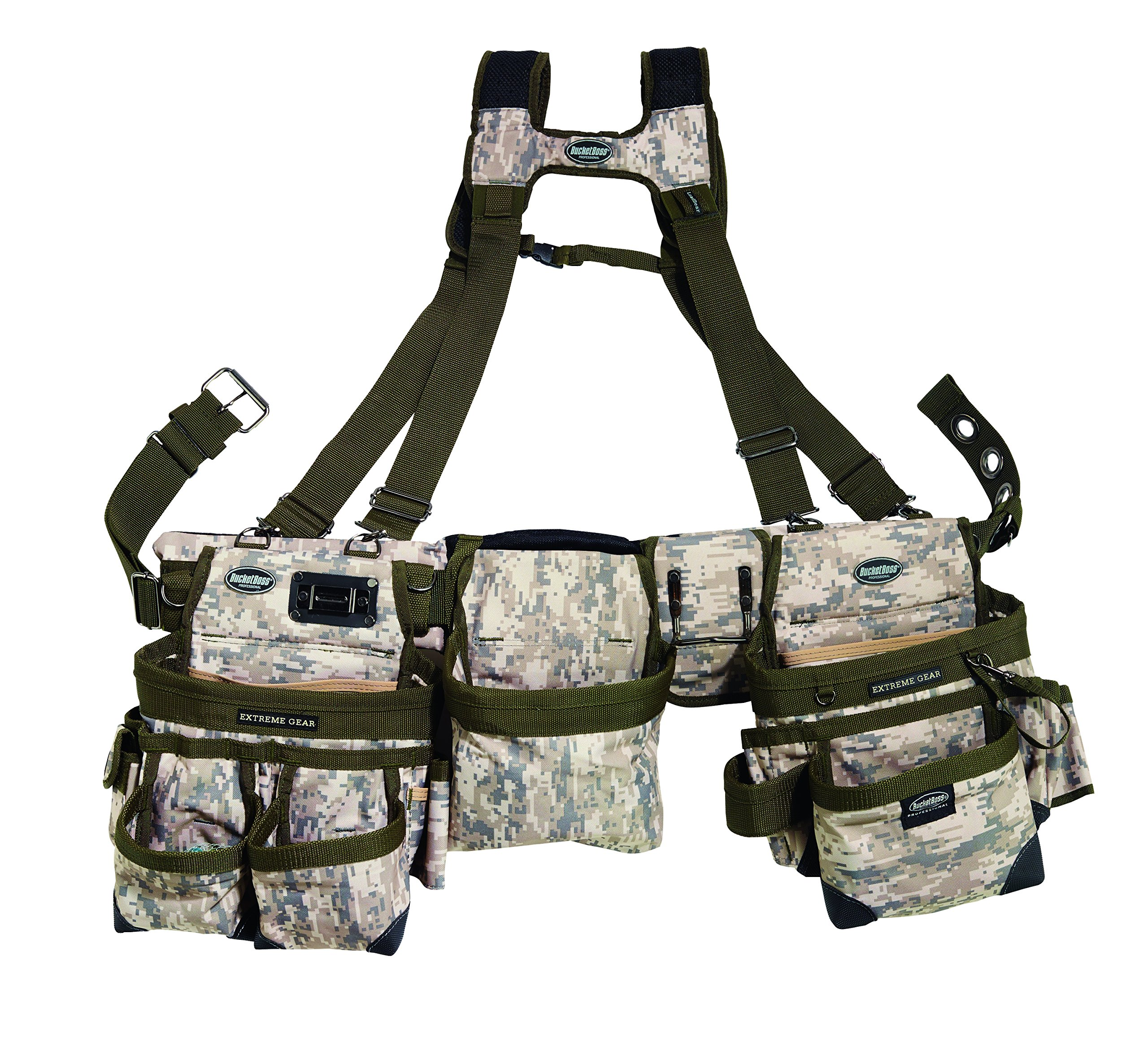 Bucket Boss Bucketboss 55185-DIGC, Three Bag Framers Rig, Digital Camo